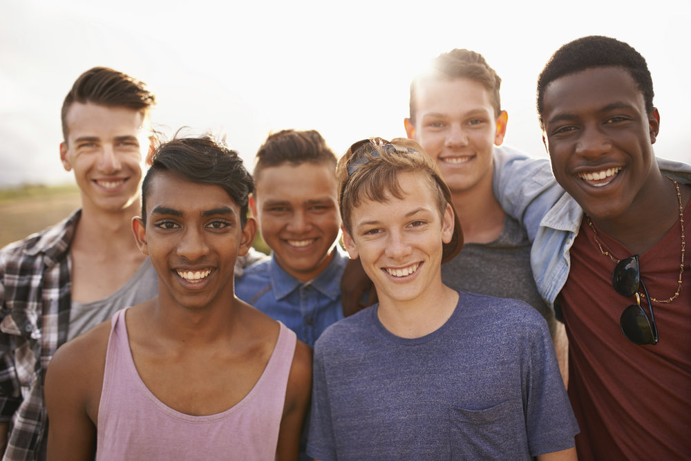 New Year's Resolutions for Teenagers make new friends