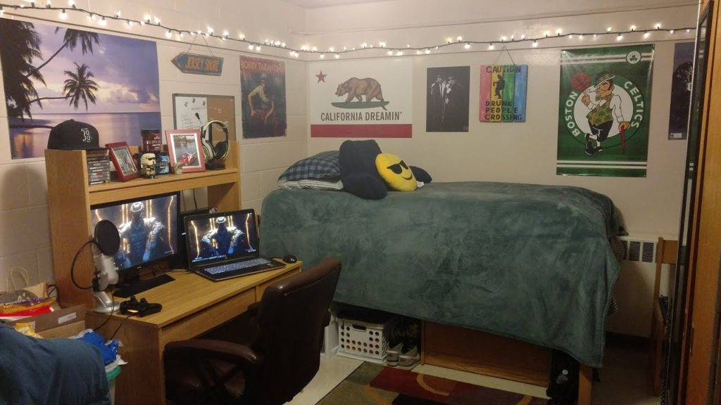 dorm room ideas for guys gaming