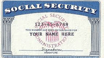 social security card for college