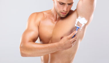 How to shave your armpits for the first time