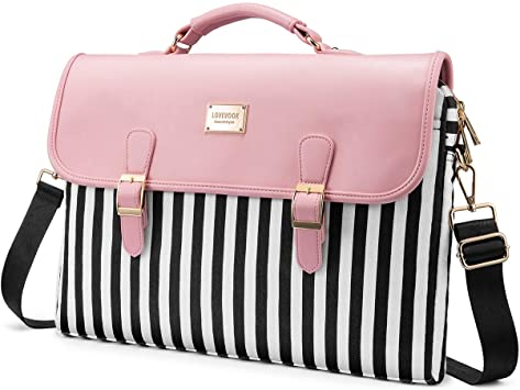 slim pink laptop backpack for college students