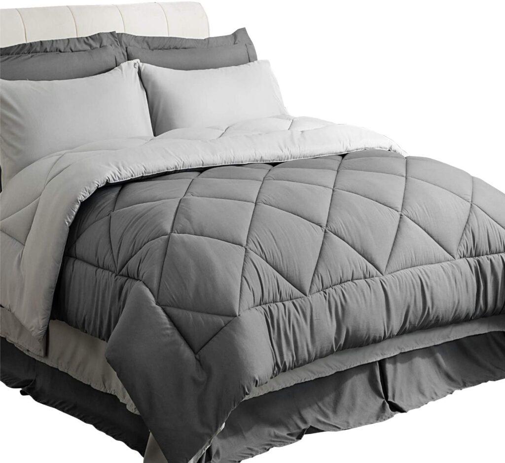 all gray twin XL bedding