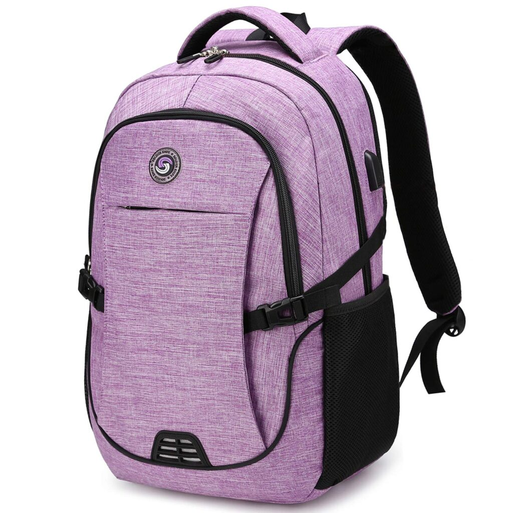 SHRRADOO Anti Theft Laptop Backpack for College Students