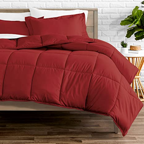 all red comforter for college