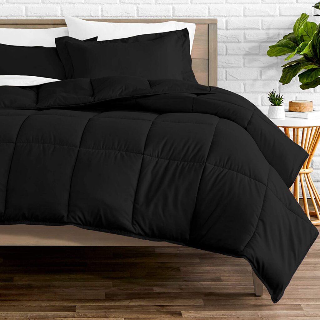 all black comforter set