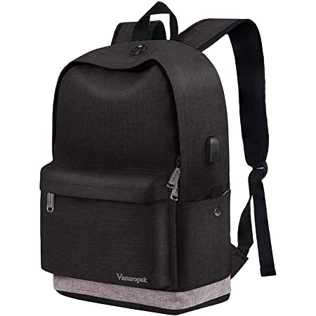 vancropak large backpack for school teen boys