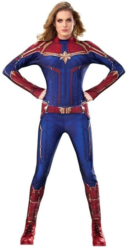 captain marvel halloween costume ideas for teenage girls