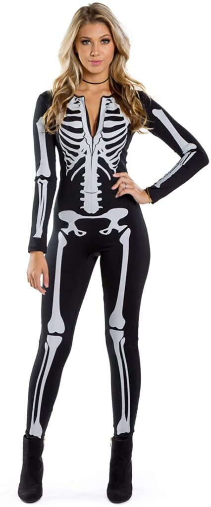 skeleton costume for teenage girls