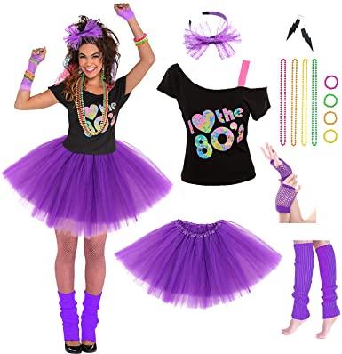 80s costume for teenage girls