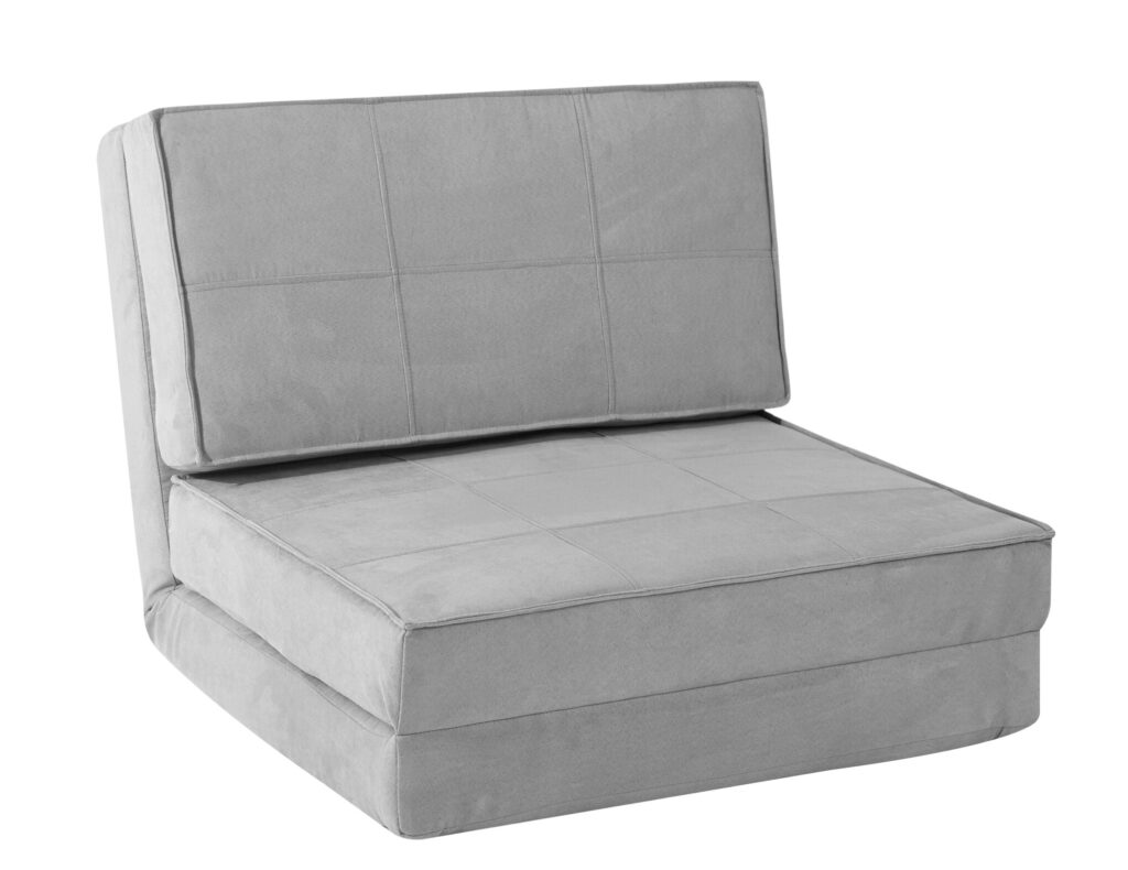 flip chair convertible dorm bed couch